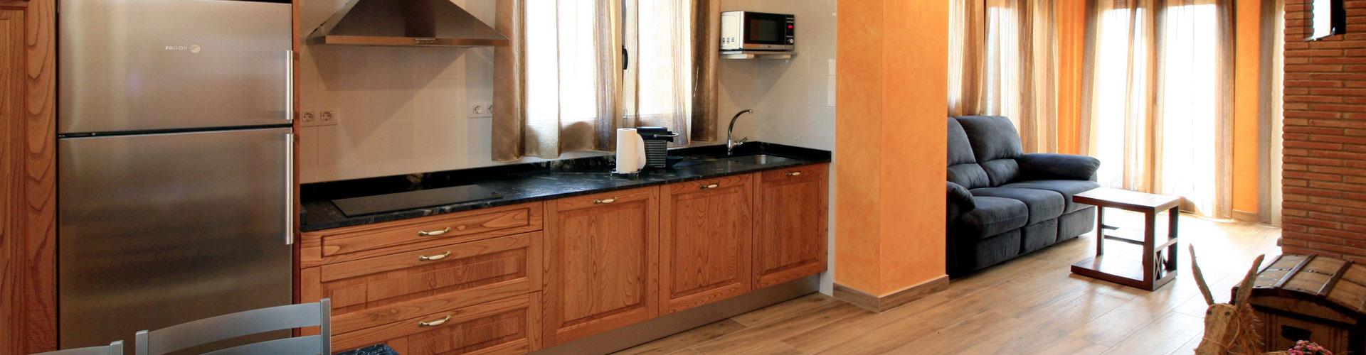 Apartamentos turísticos El Maguillo: Apartamento Canela