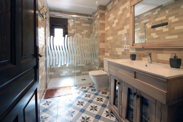 Apartamento Estrepero: Cuarto de baño.