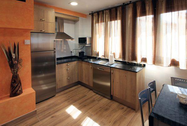 Apartamento Estrepero: Cocina.