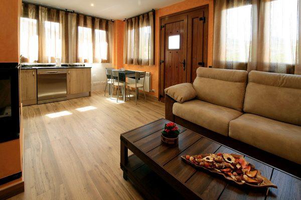 Apartamento Estrepero: Cocina y salón.