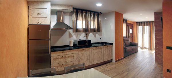 Cocina y zona de estar