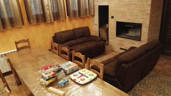Casa completa: Juegos variados en el salón-asador