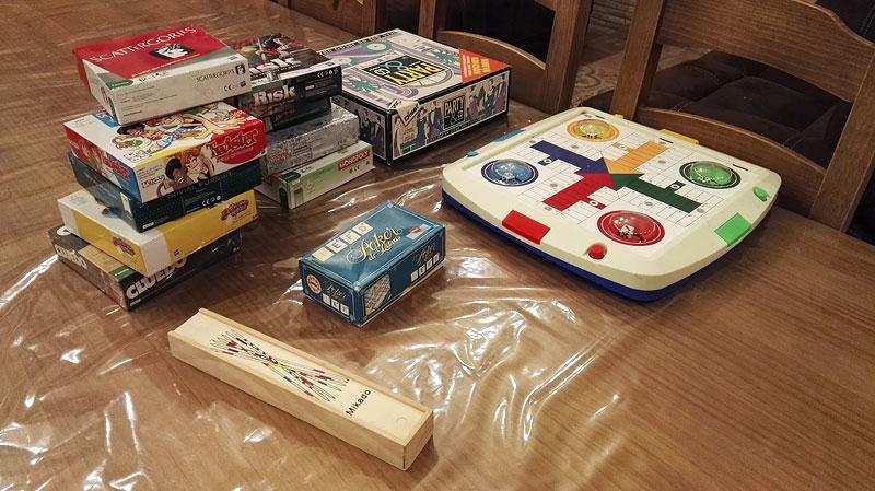 Juegos variados para todas las edades