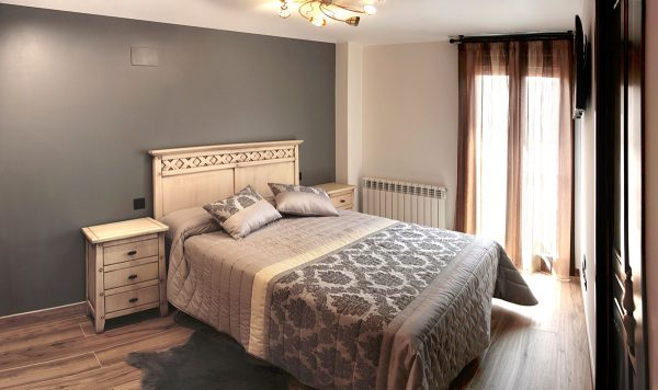 Apartamento Estrepero: Dormitorio con cama de 150 cm
