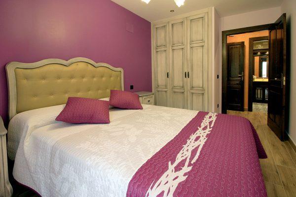 Apartamento Galilea: Dormitorio de matrimonio.